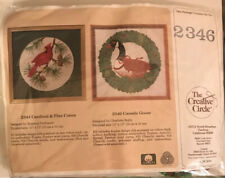 """The Creative Circle, Canada Goose, 13"""" By 13"""". Cross Stitch"""