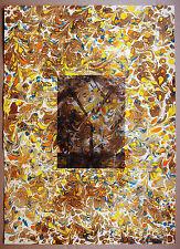 Sigmar Polke 1941-2010 Obelisk Hieroglyphen Farblithograghie Nr.28 SIGNIERT 1973