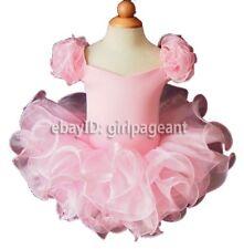 Infant/toddler/babyRuffles Sleeves PageantDress 2T G053