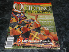 American Patchwork & Quilting Magazine October 2007 Issue 88 Touch of Tuscany