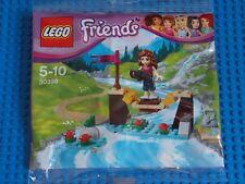 LEGO-AMICI (Set 30398-AVVENTURA CAMP bridge) Nuovo di Zecca