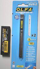 Poêle svr-2 - 45 ° Cutter 9 mm x2 lames + 1x abb-50 45 ° abbrechklingen = 50 lames