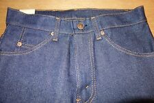 Vintage Levi's Orange Tab 509 NEW Dark Denim Jeans Made USA Size 28-33