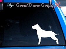 American Staffordshire Terrier -Vinyl Decal Sticker -Color Choice -High Quality