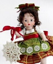 NEW! MADAME ALEXANDER CLASSIC TRIMMINGS WITH LENOX ORN ~  PROCELAIN WENDY 8''