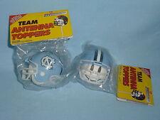 ANTENNA TOPPER North Carolina Tar Heels  Football Helmet  SET of 3  by Rico  NIP
