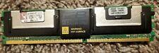 Kingston 4GB Kit Server Ram 4X1GB PC2-5300 ECC FB CL5 DIMM KVR667D2S8F5/1GI