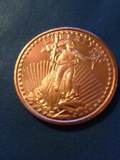 Standing Liberty .999 Copper  2011 Dollar Size