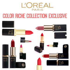 Loreal Color Riche Collection Exclusive Matte Lipsticks New Sealed - Various ...