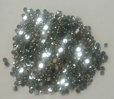 DIY 500pcs 4mm white Facets Resin Rhinestone Gems Flat Back Crystal beads 145