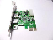 PCI-e PCI Express to USB 3.0 USB3.0 5GB/s 2 port NEC 720200AF1 chipset Hub Card