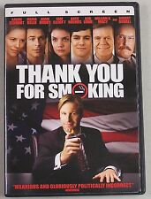 Thank You For Smoking (DVD, 2009, Full Frame)