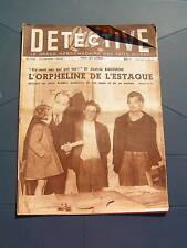 Détective 1949 LAURENS ESTAQUE MONLET CHARTRES PONGOUIN
