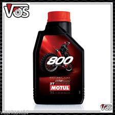 Olio Motore Moto Motul 800 2T Off Road Factory Line 100% Sintetico 2 litri