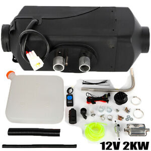 2KW Air Diesel Heater 12V Car Boat Truck Quiet Parking Heater w/ LCD Switch EU