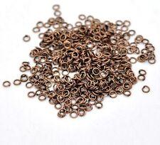 200 Anneaux de jonction Cuivre 3 mm ouvert 3mm creation bijoux, bracelet, ...