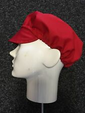 Mop Cap RED (catering hat) BUY 2 GET 1 FREE