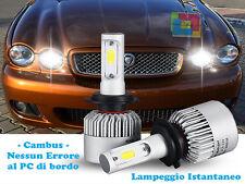 LAMPADE ABBAGLIANTI LED JAGUAR X TYPE 01-09 ISTANTANEO CREE