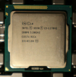 Intel Xeon E3-1270v2 E3 1270 v2 4x 3,50GHz SR0P6 CPU Sockel 1155 * Händler *