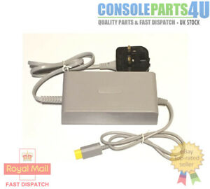 New Nintendo Wii U AC Power Supply for UK Wii U, 240v UK Plug, in Stock UK