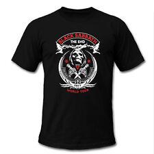 BLACK SABBATH THE END TOUR 2016 concert date schedule Skull Black White T-Shirt