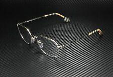 BURBERRY BE1335 1005 Silver Demo Lens 52 mm Men's Eyeglasses