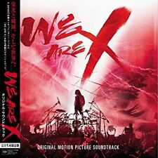 WE ARE X Original Soundtrack (Limited Edition) [Analog] F/S w/Tracking# Japan
