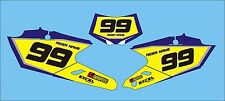 2015-2017 YAMAHA WRF250 WRF450 ENDURO RACE BACKGROUNDS  BACKGROUND DECALS