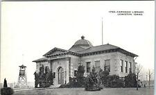 LEWISTON, ID Idaho    CARNEGIE LIBRARY    c1910s    Postcard