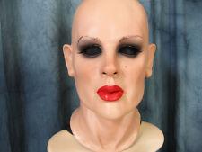 Latexmaske KATE - Real. weibliche Frauenmaske Frauengesicht Gummi Crossdresser