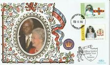 JAMAICA 18 FEB 2002 GOLDEN JUBILEE VISIT TO JAMAICA BENHAM FIRST DAY COVER