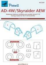 Peewit 1/72 Douglas AD-4W/AEW.1 Skyraider Canopy Paint Masks # 72207