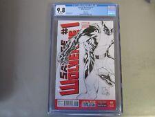 Savage Wolverine #1 CGC 9.8 Comic Book  Quesada Sketch Cover Variant