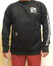686 Knockout Bonded Fleece Crew (L) Black Forest L9Wcst09-Blk
