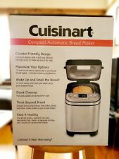 Cuisinart CBK-110 2 Pound Compact Automatic Bread Maker - New - Ready To Ship