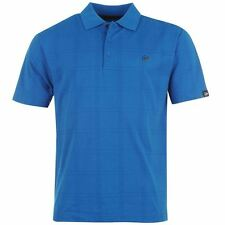 Men's Regular Check Polo Casual Shirts & Tops