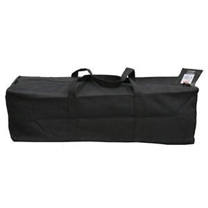 "Heavy Duty Cotton Canvas Tool Bag Black 18"""