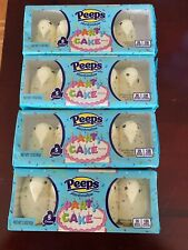 4 Packs of 5 Marshmallow Peeps Chicks Limited Edition Party Cake ~ Total 20 C