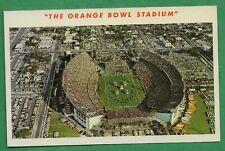 The Orange Bowl Stadium Postcard