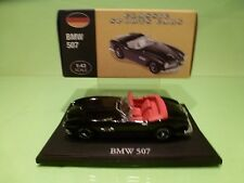ATLAS 103 BMW 507 CONVERTIBLE - BLACK 1:43 - EXCELLENT IN BOX