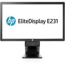 "HP EliteDisplay E231 - Monitor de 23"" (1920 x 1080, LED) negro REACONDICIONADO"