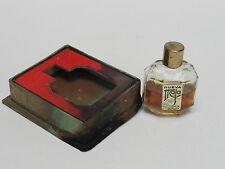 RARE ANTIQUE GOLD LABEL NUEVA MAJA by MYRURGIA MICRO MINIATURE PARFUM