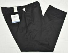 Dockers Pants Men 46x34 Iron Free Khaki Classic Fit Flat Stretch Black B&T P795
