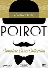New & Sealed! Agatha Christie's Poirot Complete Cases Collection DVD Box Set