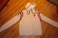 NEW Womens Euro 2012 England  Hoodie in White - Medium