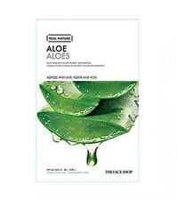 [TheFaceShop] Real Nature Aloe Mask Pack 20g x 5ea / Hydrating