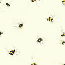 Bees Wallpaper Designed by Clare Brownlow 1Wall Feature W10MBEES01