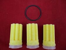 Rundgummidichtring für Filtertassen Heizölfilter 50ym Oventrop rund gelb