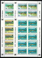 Romania 1994 MNH Sc 3954-3957 Mi 5034-5037 Fish.World Wildlife Fund.KLB set WWF