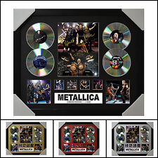 Metallica Signed Framed Memorabilia Limited Edition 2017 - Multiple Variations